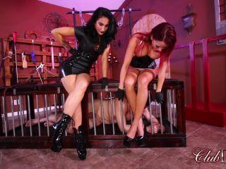 Femdom – ClubDom – Now Introducing Mistress Kitty – Mistress Raven Eve, Mistress Kitty and Mistress Bella