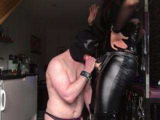 Goddess Gynarchy - Slave Strap-On Sucking [HD 720P] - Screenshot 6