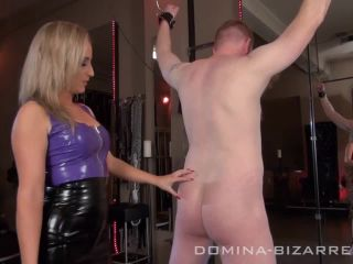 navel fetish porn femdom porn | Domina-bizarre – Slavetrainig – Teil 4. Starring Miss Courtney | spanking