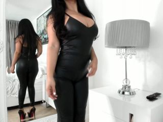 Leather – Makayla Divine Busty Latina Goddess – My Sexy Ass Tease and Denies You