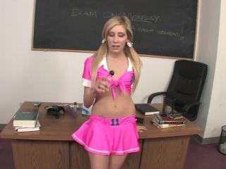 Submissive Schoolgirl Cara Dee Gets Disciplined