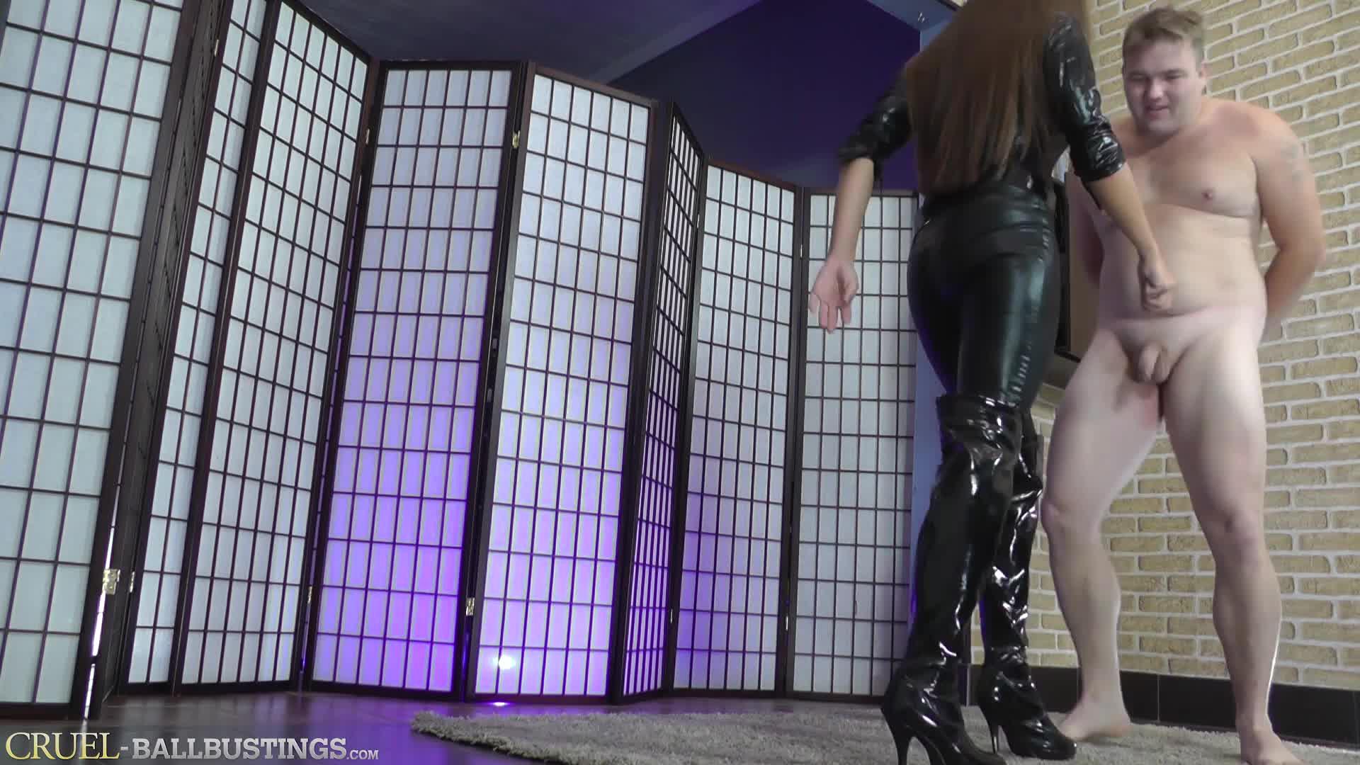 Mistress Humiliate Her Slave