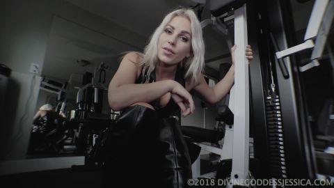 Goddess Jessica starring in video (Basement Prisoner) [FullHD 1080P]