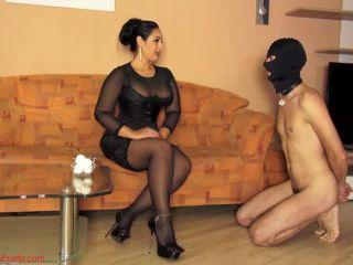 Cum Eating Instruction – Mistress Ezada Sinn – Raw eggs for cum bucket training