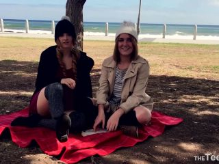 ManyVids  Alex and Jay  Public Playtime  Blonde,Blowjob,Facial,Lesbian  Release (May 30, 2018)