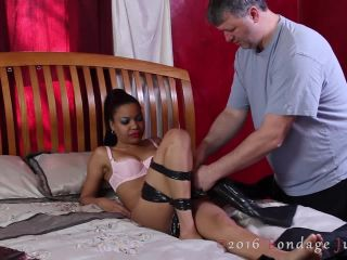 bondagejunkies – Bondage Junkies – Monica vs. The Trashy Hogtie
