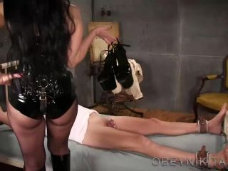 Boot Fetish – Mistress Nikita FemDom Videos – Whore Therapy
