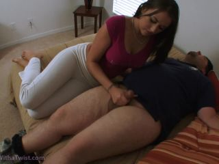 Movie title Alexis Grace Handjobs With a Twist - The Plumber's Payment