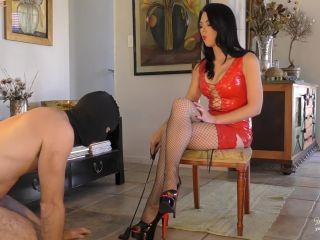 Humiliation – Young Goddess Kim – The Strict and Supreme Stiletto Service