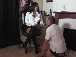 Femme Fatale Films – Mistress R'eal – Human Ashtray – Complete Movie