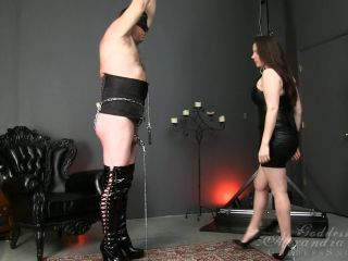 Bondage – Goddess Alexandra Snow – Chained and Caned