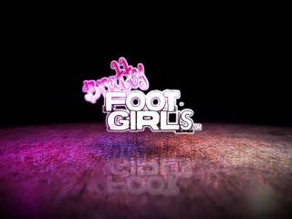Bratty Foot Girls – Taylor Knights Cum eating Foot freak JOI