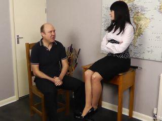 [Femdom 2018] Miss Jessica's Punishments UK  Staff meeting [SPANKING F_M]
