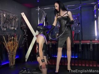 pony fetish TheEnglishMansion: Lady Mephista - Beaten And Boxed Slave - Part 1, sadistic on femdom porn
