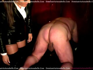 Online video femdom dominatrix annabelle: pumped and spanked