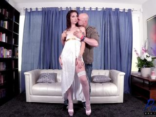 Online shemale video Tall angelic trans starlet makes her porno debut