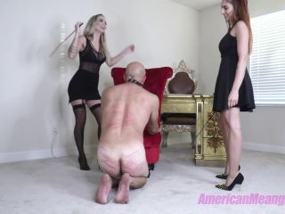 """THE MEAN GIRLS: """"WHY THE FUCK DOES A MALE WORK HERE"""" (1080 HD) (CANING)"""