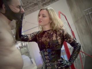 DomNation  BREAKING DOWN YOUR MANHOOD. ONE HARSH SLAP AT A TIME! Starring Mistress Renee Trevi