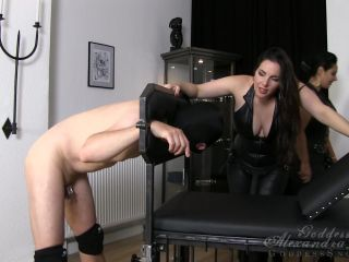 Goddess Alexandra Snow  Dirty Slut Double Fuck. Starring Mistress Ezada Sinn and Goddess Alexandra Snow