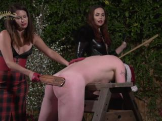 Corporal Punishment – OublietteClip Store – The Christmas Grinch – Mistress Rose and Mistress Serena