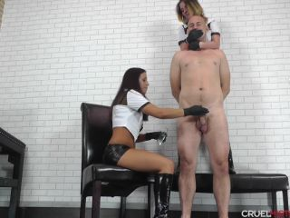 Porn online CRUEL MISTRESSES – Punishment or reward. Starring Mistress Sophie and Mistress Szvetlana femdom