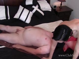 Clubstiletto – Cum While Fighting For Air Under My Ass