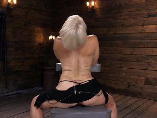 Sexy Blonde Cougar Gets Machine Fucked - Kink  August 15, 2018