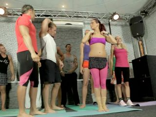 Coed Yoga Class Turns Into A Bisexual Orgy 1 280 Terry, Valentina Ross ...