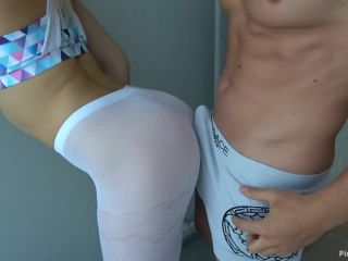 ManyVids Webcams Video presents Girl CarryLight in anal fuck in ripped yoga pants