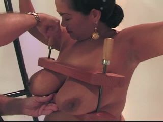 Nasty Asian Whore's Pussy Stretched Out