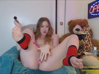 Gingerspyce – Machinegun Squirt Red Hair Red Socks