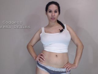 Serena Drains – You're so gross! Humiliating Self facial CEI for losers