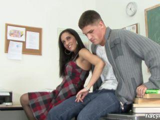 Schoolgirl tia cs fucked by hung teacher after class