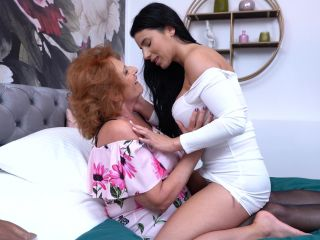 Original Video Title Hot babe Nelly Kent gets invited by granny Katal ...