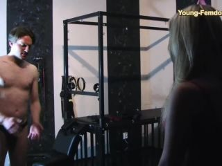 Foot+worship – YOUNG-FEMDOM- Brutal German Girls – Let`s test something new