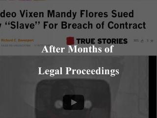 Mandy Flores - SlaveX Series Executrix Advertisement - pain on bdsm porn
