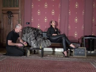 best femdom Madame Catarina – Cruelest Beauty – Mr Butler In Trouble – The Branding – Entire Movie (720 HD) – Caning – Female Domination, MC, cane on femdom porn