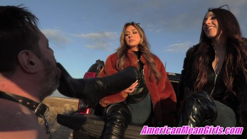 The Mean Girls - Boot Worship For Your Life [FullHD 1080P]