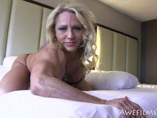 Awefilms – Tish Shelton bikini muscle babe