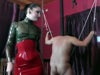 cybill troy  a slave's devotion  women spanking men