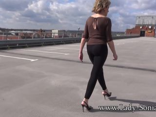 Lady-Sonia presents Lady Sonia in 2018.06.08 Busty Housewife Out And About
