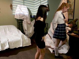 Shiri Allwood & Alana Cruise in Shiri Leads Trusting Alana Into The Haunted Fuck House