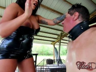 ClubDom – Jaime Valentine Face Smacking – Face Slapping