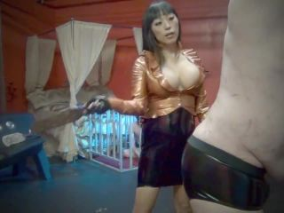 Leather Whip – Asian Cruelty – WHIP TESTING DAY! Starring Goddess Gaia