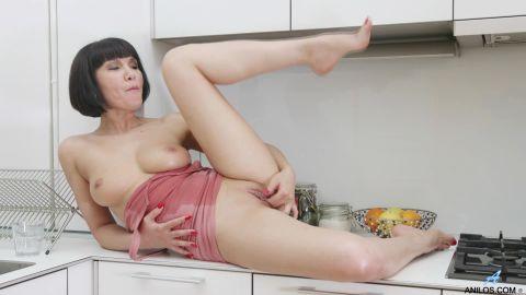 Black Kat - Cumming In The Kitchen (1080p)