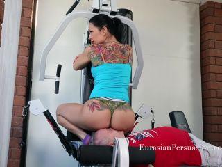 EurasianPersuasion – Gym Perv Punishment – Miss Jasmine – Oral Servitude – Female Domination, Foot Fetish on fetish porn sfm foot fetish