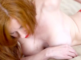 Minutes Of Intense Anal Fingering In Red String, Lips Nails