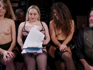 Aiden Starr, Victoria Voxxx, Zoe Sparx – Orgy of BDSM Players Train Anal Submissives to Fuck and Serve