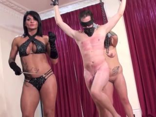 Sasha Foxx Helpless Male with Bound Balls Forcibly Milked and Ruined