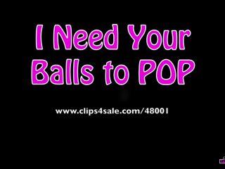 Porn online Girls Next Door: TEAM BALLBUSTER – I Need Your Balls to POP Part 2 femdom